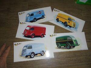 Cartes-des-Miniatures-Macadam-Camion-Fourgon-1000kg-Renault-Fourgon