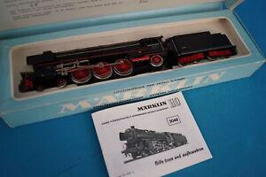 Marklin-3048-DB-Steamer-with-Tender-Br-01-Black-vers-2-OVP