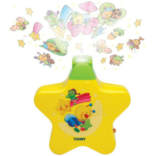 Baby Night Projector Tomy Starlight Star Dreamshow Musical Light Cot Mobile Toys