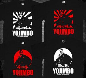 New Akira Kurosawa Yojimbo Sanjuro Toshiro Mifune Japanese Samurai Movie T-shirt