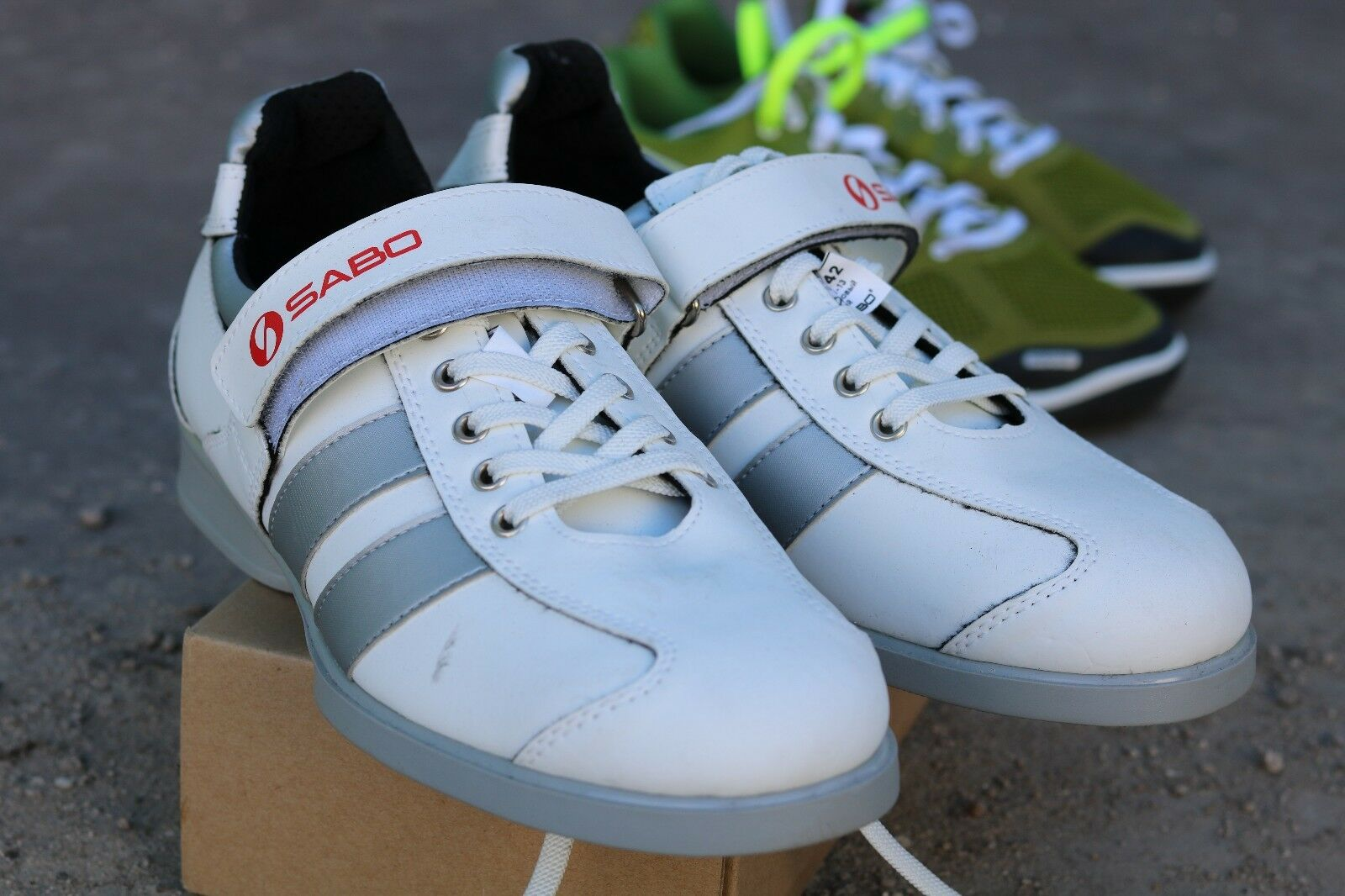 SABO Weightlifting Powerlifting Crossfit chaussures chaussures Crossfit noir blanc 2d93f2