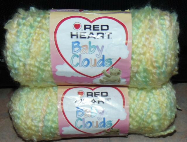 "Multi-colour Coats Yarn E746.9700 /""red Heart/"" Soft Baby Steps Yarn Red Heart"