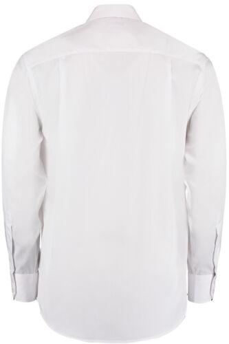 KK116 Kustom Kit Men/'s Premium Non-Iron Long Sleeve Shirt 100/% Cotton Workwear