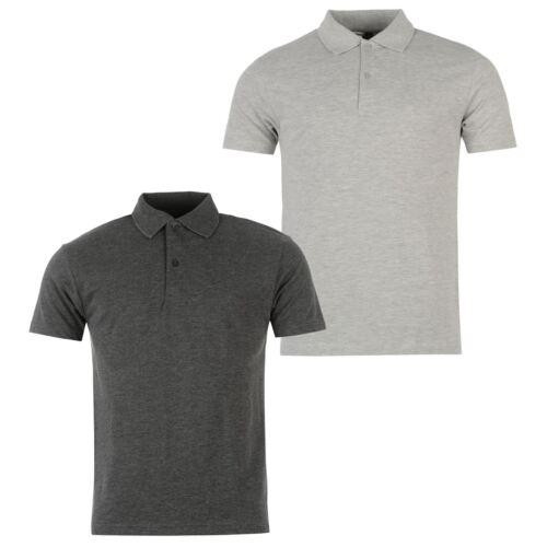 Donnay Uomo 2 pacchi Polo T-Shirt Maglietta classica Maglietta classicas