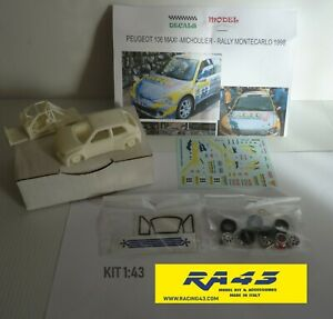 1/43 Peugeot 106 Maxi Rally Montecarlo 1998 Michoulier Kit
