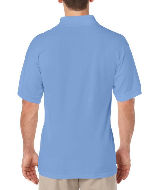 721bac7f Gildan Adult Jersey Polo Shirt 14 Colours 36-48
