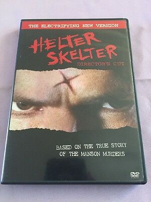 HELTER SKELTER rare Unrated Horror dvd JEREMY DAVIES Charles Manson Rare