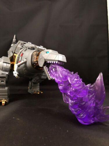 Masterpiece Transformers dinobot Fire Effect Meuleuse Grassor Schriebers Césium USA!