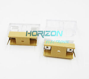 50pcs-Panel-Mount-PCB-Fuse-Holder-Case-w-Cover-5x20mm-NEW