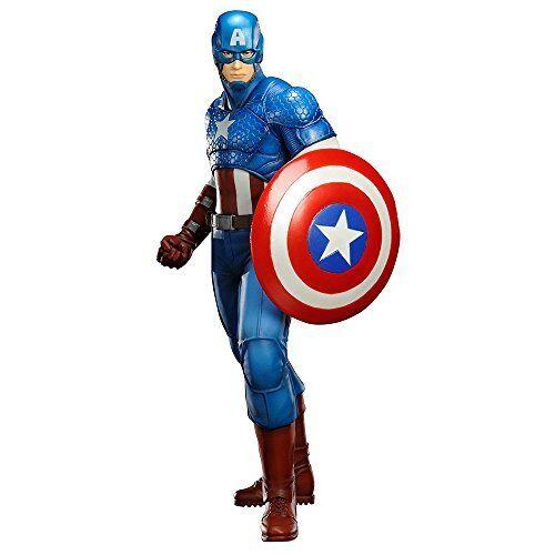 Kotobukiya marvel comics captain america artfx + statue