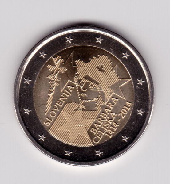 2 Euros 2014 Slovenie Comémorative Neuve