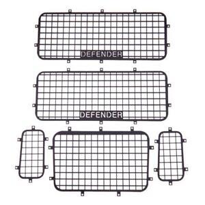 Neu-Metallfenster-Mesh-Schutznetz-fuer-1-10-RC-Crawler-Car-Traxxas-Trx-4-TRX4