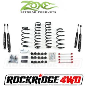 Zone-4-25-034-Suspension-Combo-Lift-Kit-Jeep-Wrangler-TJ-LJ-97-06-Nitro-Fixed-Links