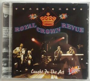 Royal Crown Revue Caught in the Act LIVE 1997 Surfdog