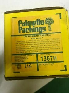 Palmetto Packing 1367H Packing Seal 5 Ft 1//4 Sq In.