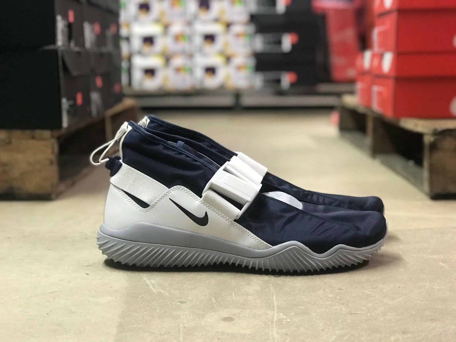 Nike Komyuter herr Laceless Athletic Athletic Athletic skor blå  vit AA2211 400 ny Storlek 12.5  på billigt