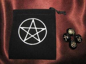 Sacred-Emblem-Stones-Dyed-Onyx-with-Pentagram-Pouch-GEM32