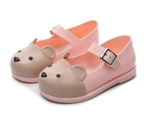 Mini Melissa NEW Girls Jelly Sandals Shoes Girls Princess Sandals Girl Non-slip