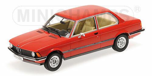 Minichamps BMW 316 E21 1:18 107024100 red 1978