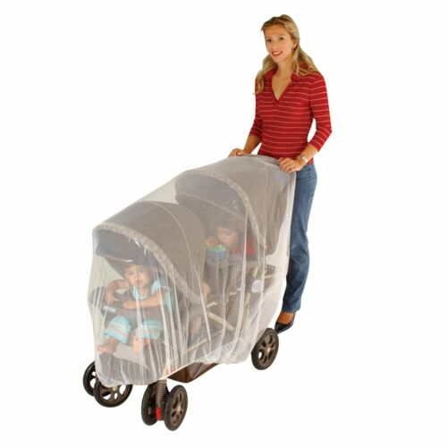 Free Shipping! Jeep Netting for Double Stroller New
