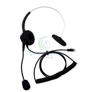Image Is Loading Black T400 Headset Headphone For Aastra 9112i 9133i