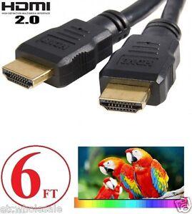 6FT-HDMI-2-0-Cable-For-4K-Ultra-HD-Smart-LED-TV-Samsung-LG-Sony-Toshiba-VIZIO