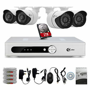 XVIM 8 Channel Home Security System 1080N DVR Recorder