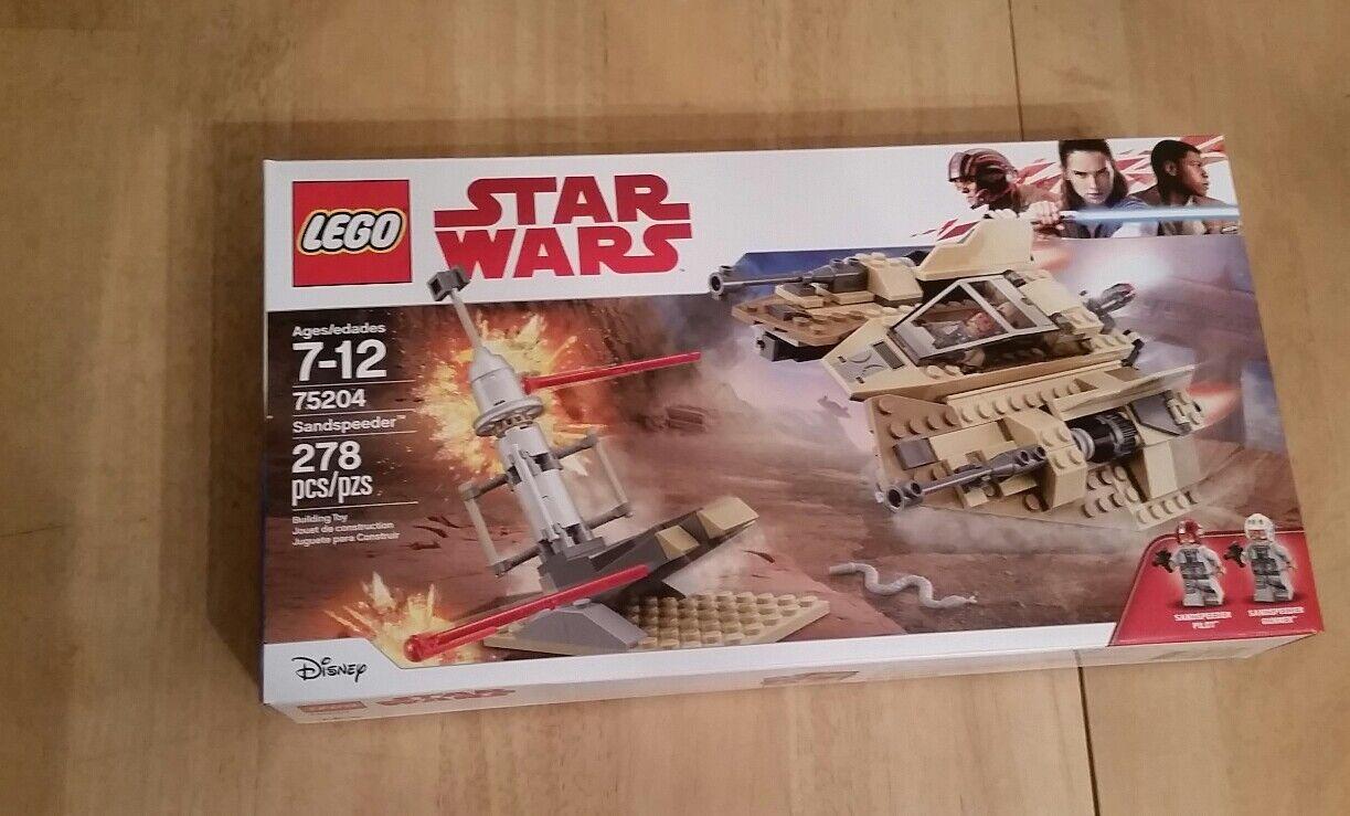 LEGO 75204 Star Wars Sandspeeder New Sealed Target Exclusive 2018