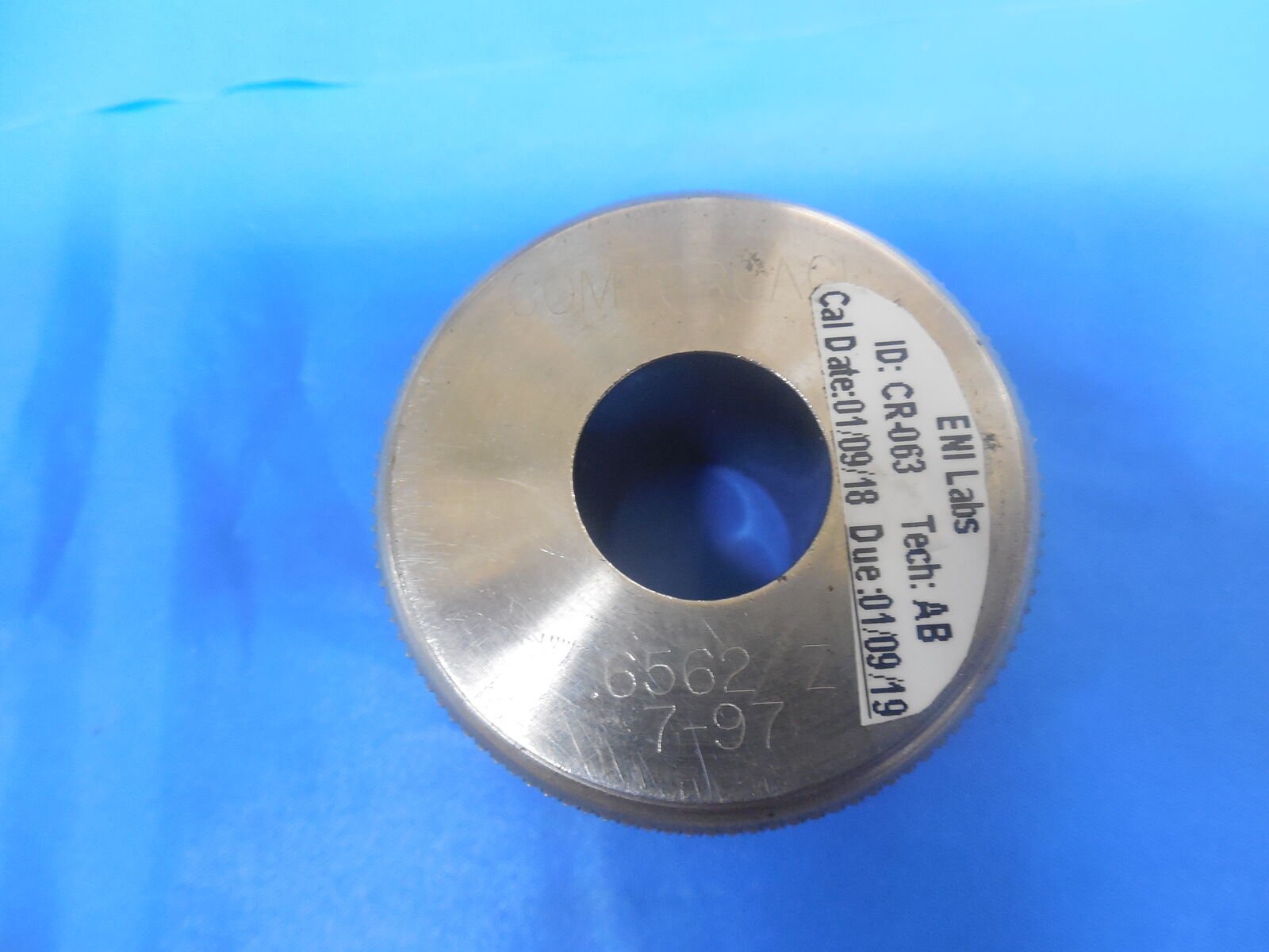 .6330 SMOOTH PLAIN BORE RING GAGE .625 .008 OVERSIZE 5//8 CLASS Z INSPECTION