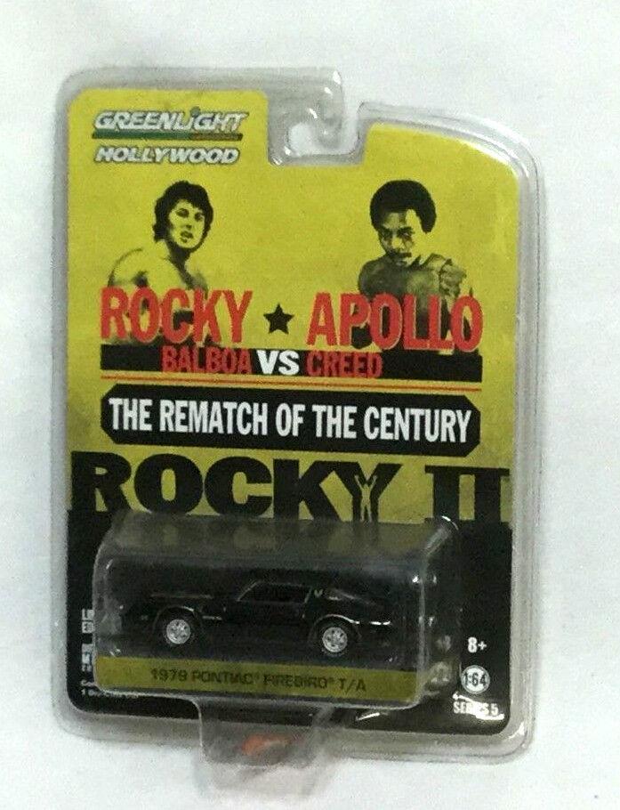 verdelight Hollywood Rocky II revancha película 1979 Pontiac Firebird Coche Nuevo Sellado