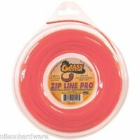 3 Pk Grass Gator .095 Dia X 128' Zip Line Pro Lawn Weed Trimmer Line Z5095l