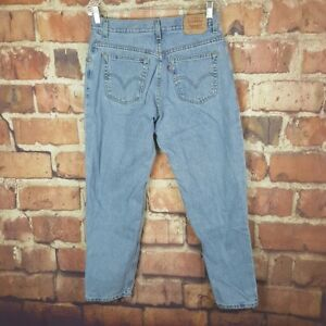 Levi-039-s-550-Relaxed-Tapered-Womens-Jeans-Size-12-Short-28-Inseam-Vintage