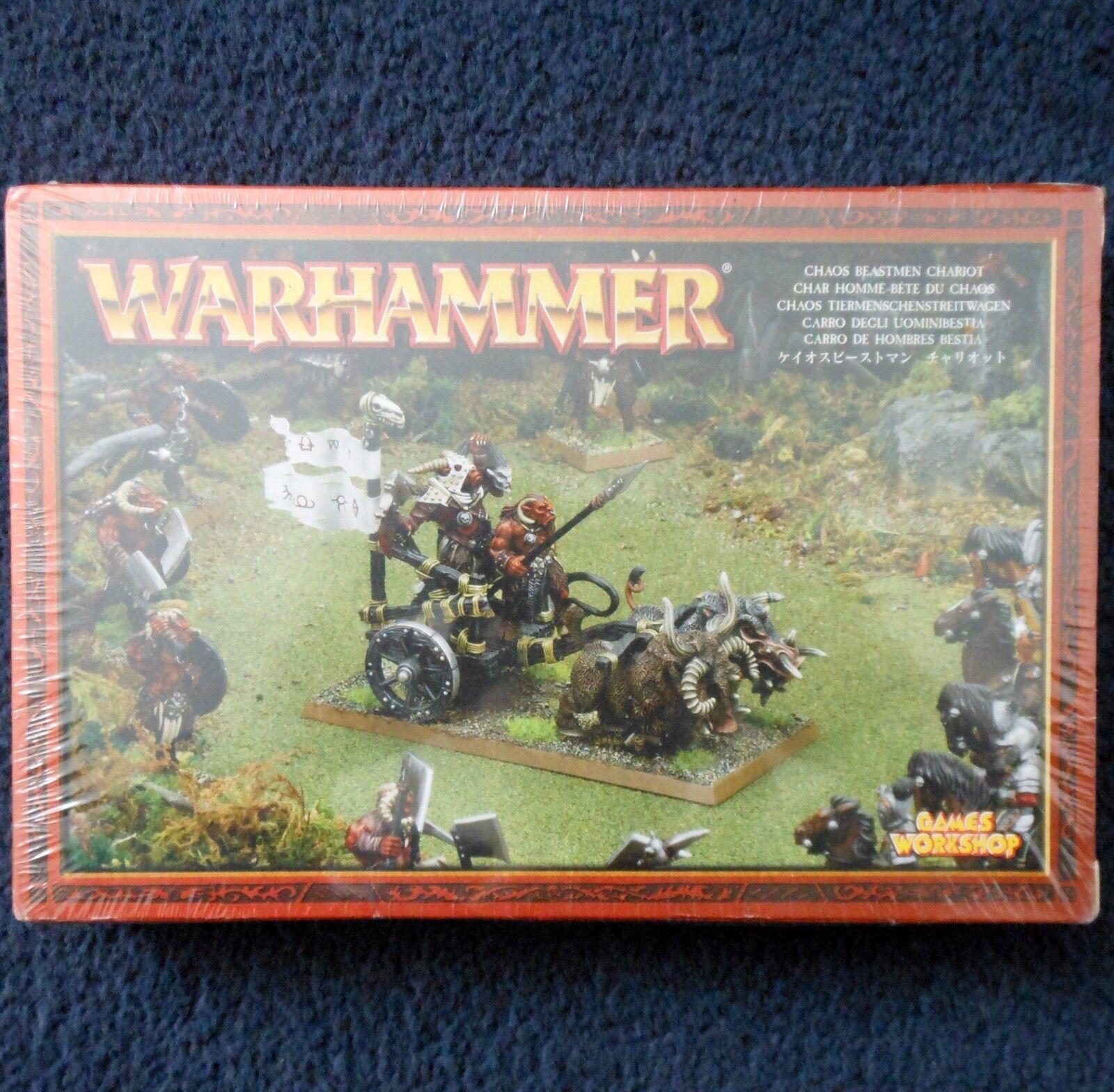 2003 Chaos Tuskgor Chariot Group Lords & Heroes Citadel Warhammer Beastmen MIB