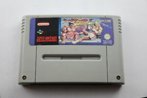 Jeu-STREET-FIGHTER-II-TURBO-pour-Super-Nintendo-SNES-version-PAL