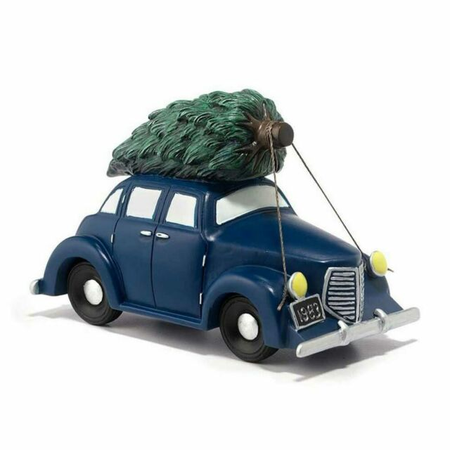Department 56 Bringing The Tree Home From A Christmas Story Village (Retired)