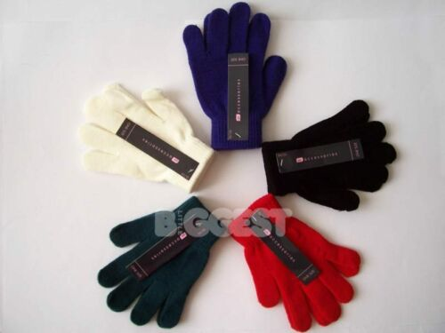 NEW Ladies Womens Adult MAGIC GLOVES Assorted Colours Winter Cold One Size