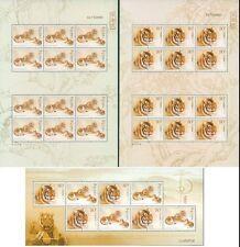 China 2004-19 South China Tiger stamps sheet+mini-pane华南虎