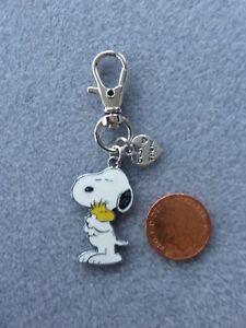 Metal keyring GIFT,CHROME BAR WOODSTOCK Snoopy