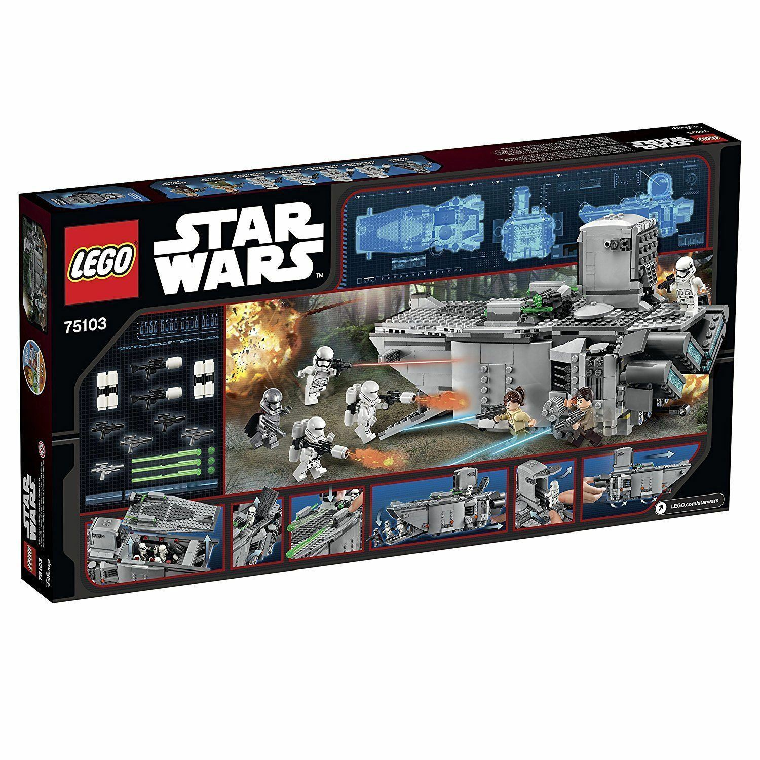 LEGO 75103 STAR WARS First Order Transporter - Nuovo in Sealed Box