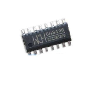 10-pcs-Original-CH340G-IC-R3-Board-Free-USB-Cable-Serial-chip-SOP-16