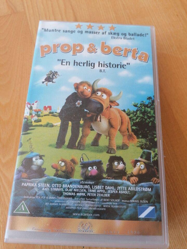 Børnefilm, Prop og Berta