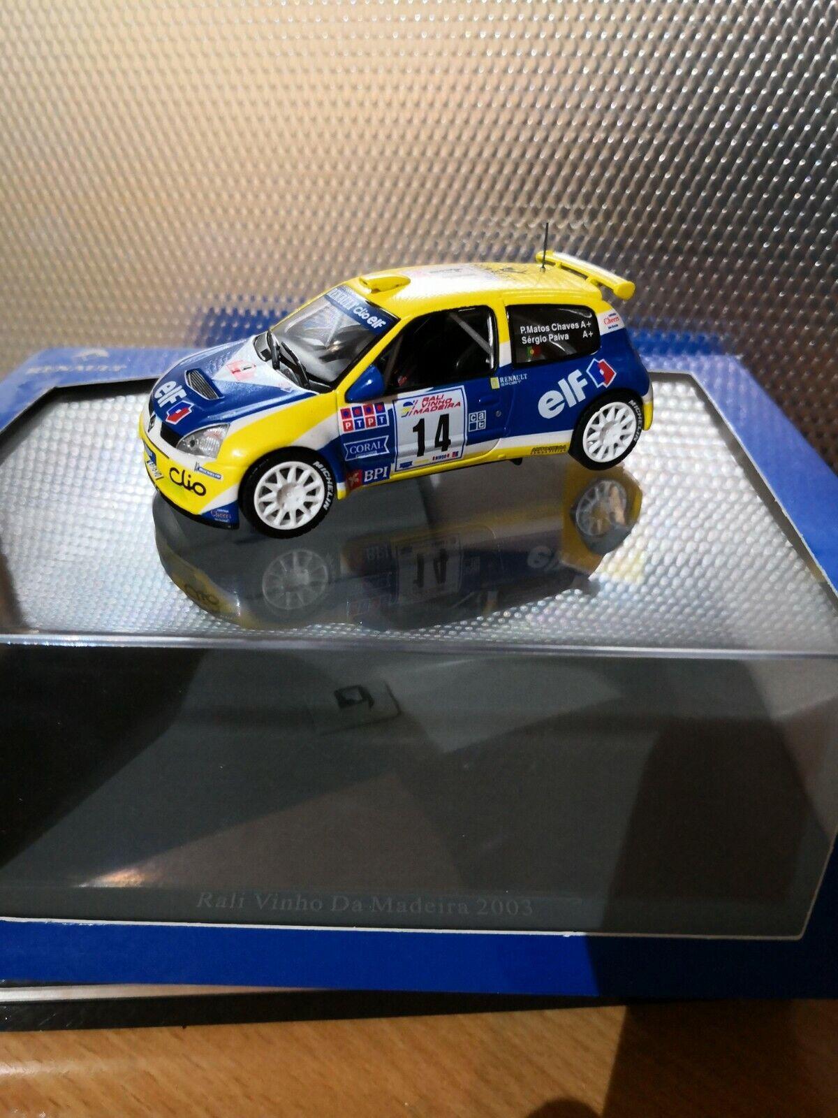 Renault clio s1600 rallye du Madeira 2003 uh 1 43