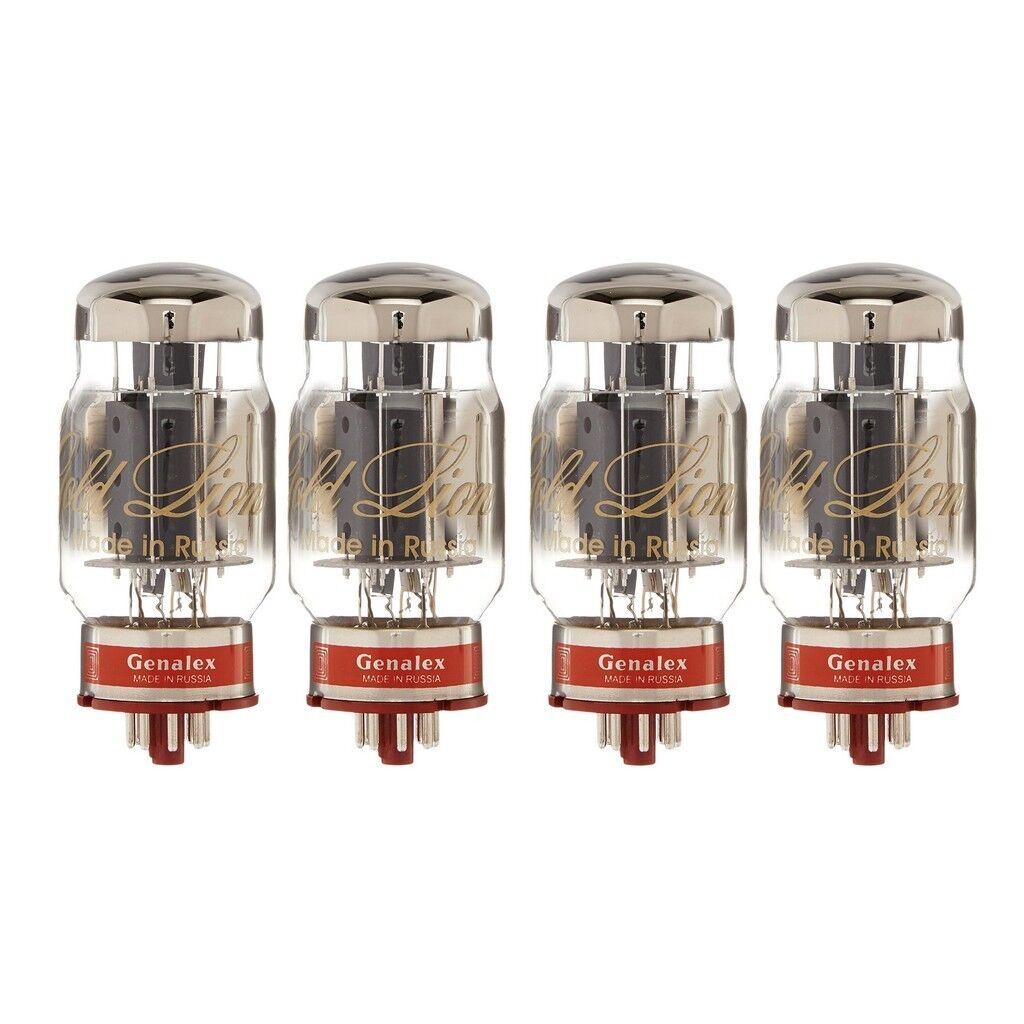 Nueva marca marca marca quad emparejado (4) Genalex oro Lion Reissue KT88 6550 los tubos de vacío c43666
