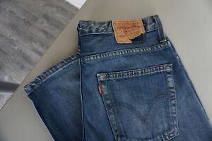 Details zu Levis Levi's 507 Herren Jeans Hose 3336 W33 L36 Stonewashed blau used TOP C7