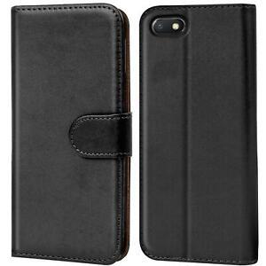 Book-Case-fuer-Xiaomi-Redmi-6a-Huelle-Tasche-Flip-Cover-Handy-Schutz-Huelle
