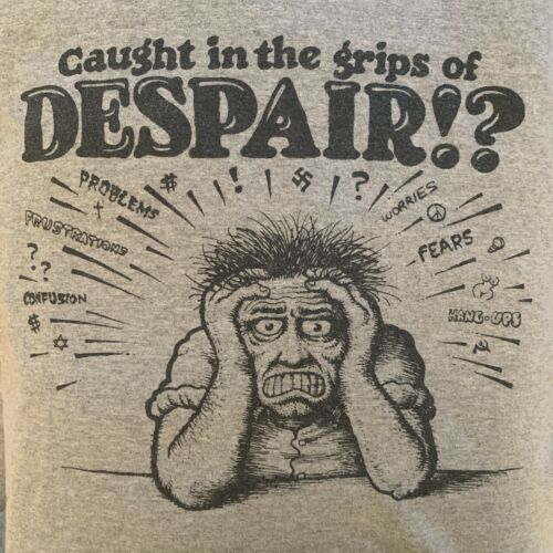 "Supreme ""Caught In The Grips Of Despair"" R Crumb C"