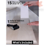 32-x4-Non-Slip-Stair-Treads-Tape-15-Pack-Clear-Anti-Slip-Indoor-Strips thumbnail 3