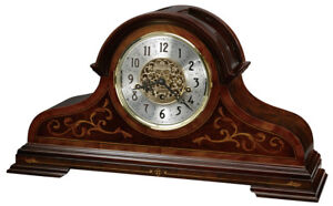 Howard-Miller-630-260-Bradley-Numbered-Limited-Edition-Cherry-Mantel-Clock