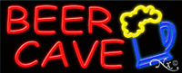Brand beer Cave 32x13 W/logo Neon Sign W/custom Options 11176
