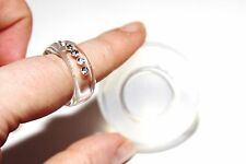Clear silicone Ring Mold ,size 8.Handmade item.Free USA Shipping.(1-32)